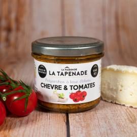 Chèvre & Tomates - by LA MAISON DE LA TAPENADE