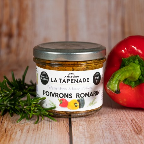Poivrons & Romarin - by LA MAISON DE LA TAPENADE