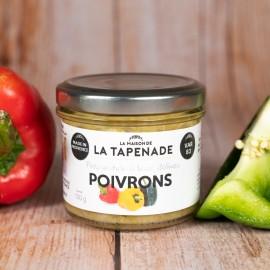 Poivrons - by LA MAISON DE LA TAPENADE