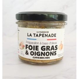 FOIE GRAS & OIGNONS CARAMELISES