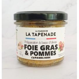 FOIE GRAS & POMMES CARAMELISEES